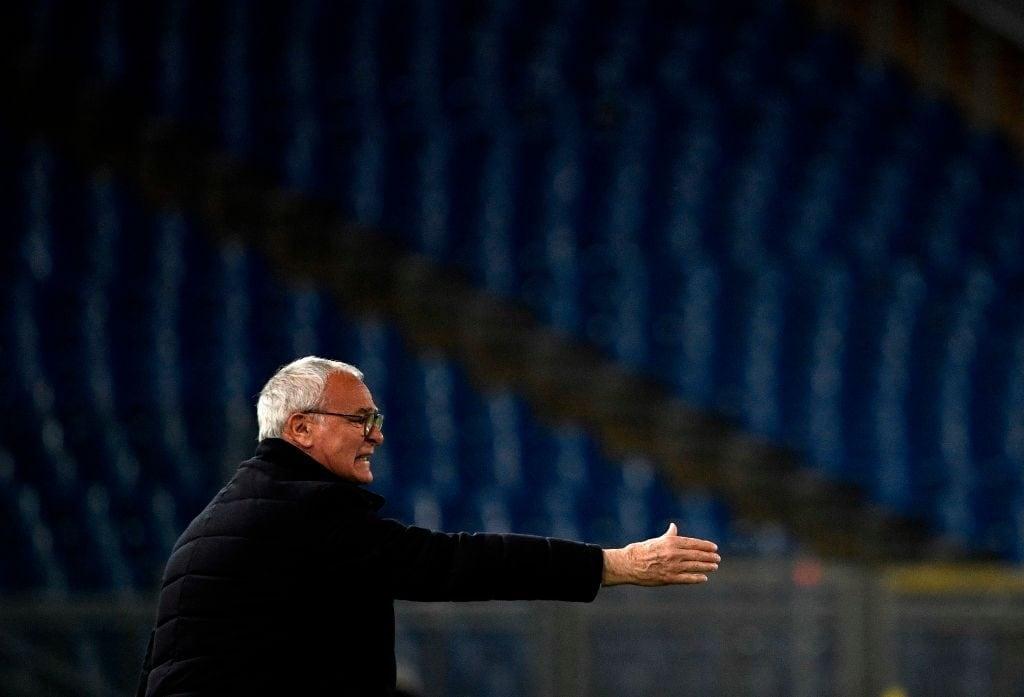 Claudio Ranieri con la Roma giocherà a Sassuolo.