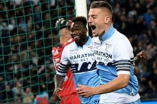 Milinkovic-Savic e Correa regalano la Coppa Italia alla Lazio: Atalanta battuta 2-0