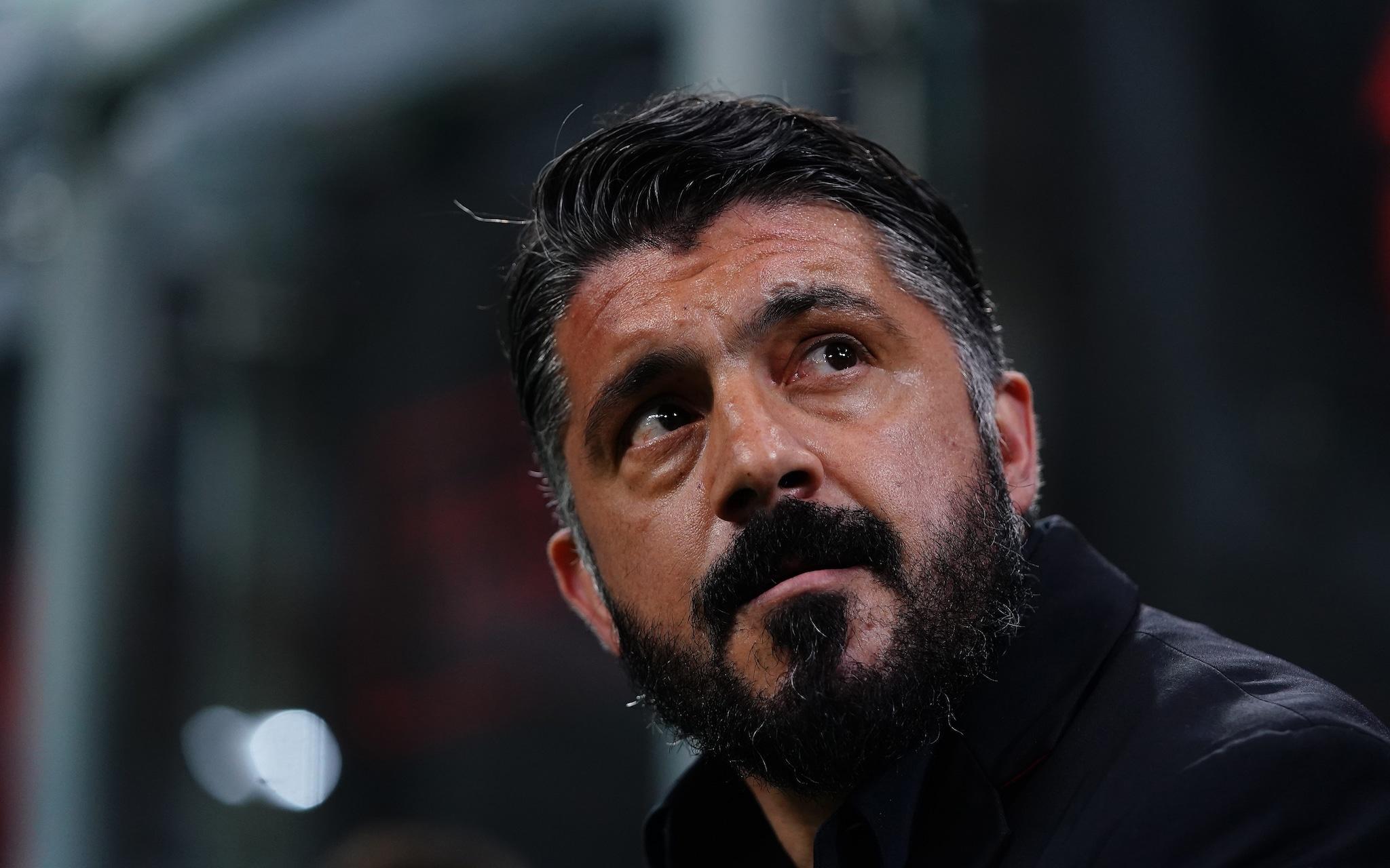 Gattuso si gioca la Champions con il Milan.