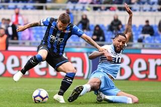 Atalanta-Lazio, risultato finale 0-2
