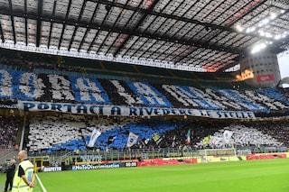 """La Curva Nord dell'Inter accoglie Conte: """"Noi non siamo la Juve"""""""