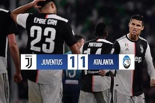 L'Atalanta fa 1-1 con la Juve e vola al terzo posto: la Champions è più vicina