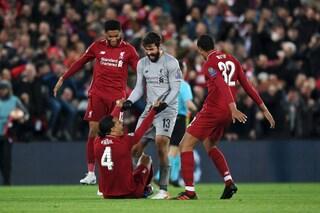 Nel segno di Alisson: dalla Roma al Liverpool è lui il re delle rimonte impossibili