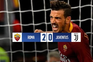 La Juventus dura solo un tempo: Florenzi e Dzeko la castigano