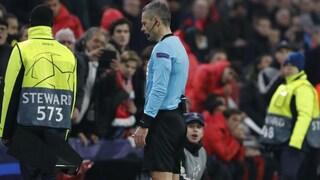 Champions League, Damir Skomina arbitrerà la finale di Madrid tra Liverpool e Tottenham