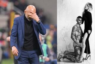 """Icardi nudo in foto con Wanda, Spalletti: """"A me interessa che sia vestito da Inter"""""""