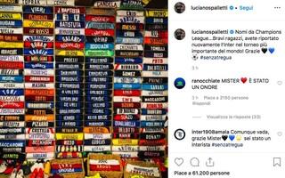 """Il congedo di Spalletti: """"Grazie ragazzi, avete riportato l'Inter in Champions League"""""""
