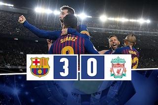 Messi e il Barça cancellano il Liverpool: blaugrana (quasi) in finale di Champions