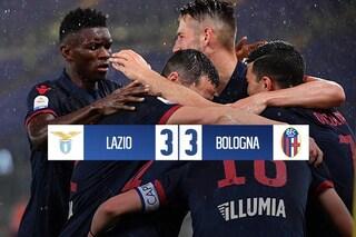Spettacolo tra Lazio e Bologna: finisce 3-3 e Mihajlovic conquista la salvezza in anticipo