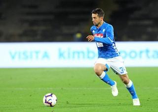 Napoli, la formazione per il match con la Spal: in attacco Milik e Younes