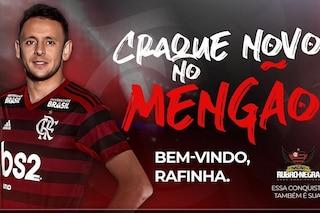 Calciomercato ufficiale, Rafinha ha firmato con il Flamengo un biennale