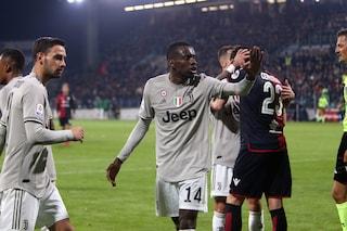 """Juventus, Matuidi contro il razzismo e i cori di Cagliari: """"Volevo lasciare il campo"""""""