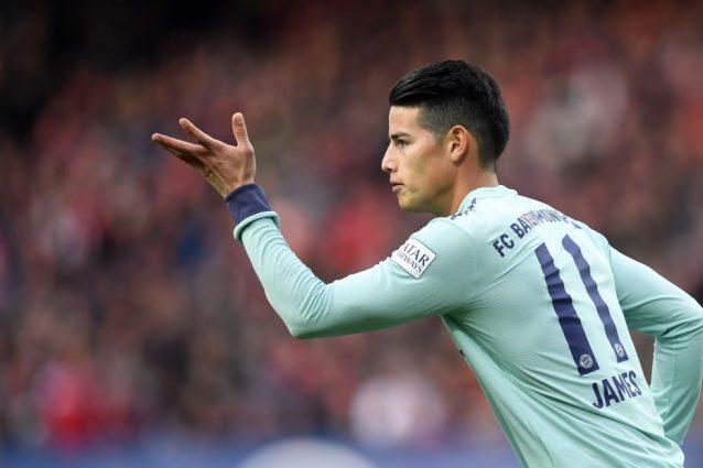 Bayern, James Rodriguez non verrà riscattato