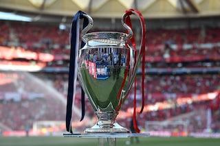 Champions League, le date e in quali fasce sono le italiane nell'edizione 2019/2020