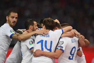 762 passaggi, 16 tiri, 3 gol: l'Italia di Mancini pressa, diverte e vince