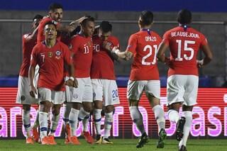 Copa America 2019, il Cile campione uscente lancia la sfida: 4-0 al Giappone