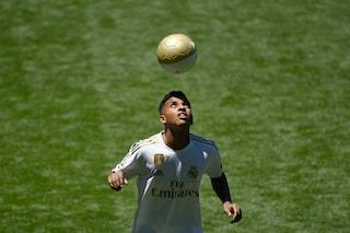 "Real Madrid, Rodrygo si presenta: ""M'ispiro a Neymar e Robinho"""