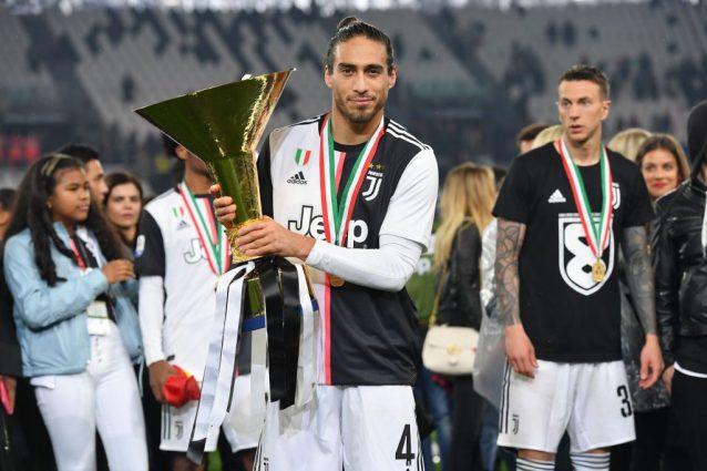 Caceres saluta la Juventus: