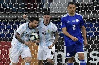 Copa America 2019, non basta un rigore di Messi: l'Argentina pareggia 1-1 col Paraguay