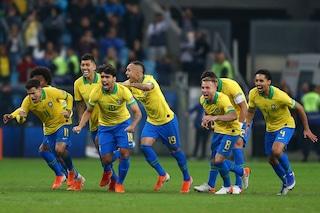 Il Brasile è la prima semifinalista della Copa America 2019: battuto ai rigori il Paraguay