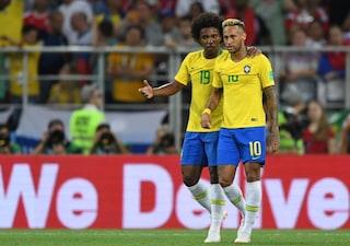 Brasile, è Willian il sostituto di Neymar: niente da fare per Douglas Costa e Vinicius