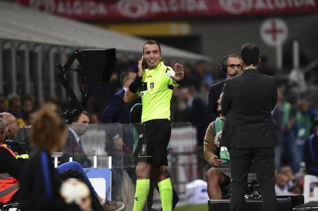Mazzoleni (Pechino 2012, Supercoppa Napoli-Juve):