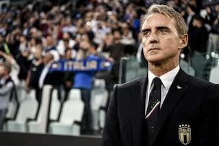 """Mancini: """"Nella ripresa abbiamo dominato. Bellissimi i gol di Insigne e Verratti"""""""