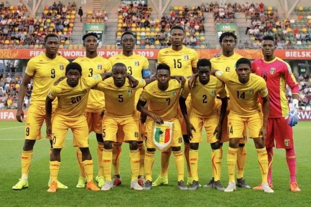 La formazione del Mali Under 20 (fonte: profilo twitter Fifa)