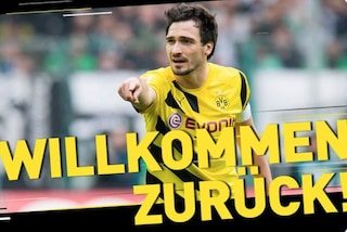 Bayern Monaco, Mats Hummels torna al Borussia Dortmund. E' ufficiale