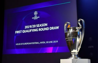 Champions League 2019/2020, ecco i sorteggi del primo turno eliminatorio