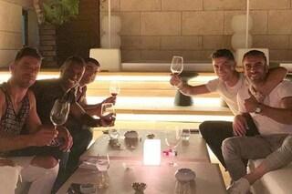 Cristiano Ronaldo in vacanza al Westin Resort, dove firmò per la Juventus