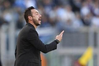 """De Zerbi: """"Resto al Sassuolo, sogno la Champions con i neroverdi"""""""