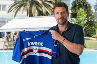 """Sampdoria, Di Francesco suona la carica: """"Sarà una squadra brillante, viva, competitiva"""""""