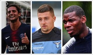 Ultime notizie di calciomercato sulla Juve: Pogba, Milinkovic o Rabiot per il centrocampo