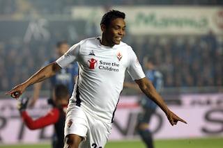 Mercato Fiorentina, le ultime notizie su Muriel: niente riscatto, Milan alla finestra
