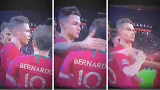 Bernardo Silva eletto MVP della Nations League e Cristiano Ronaldo non la prende bene