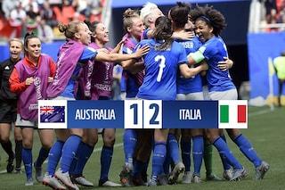 Mondiali femminili 2019: cuore Italia e Bonansea bum bum battono l'Australia