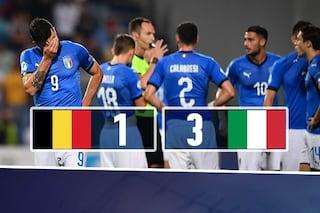 Europeo Under 21, l'Italia batte il Belgio ma non basta: Spagna prima nel girone