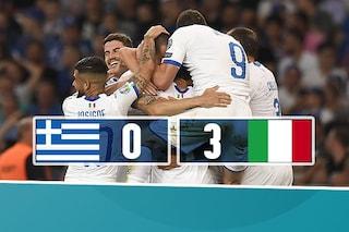 Euro 2020 Italia show in Grecia: in mezz'ora chiude il match con Barella, Insigne, Bonucci