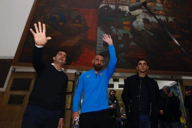 Daniele De Rossi – Foto da Twitter Boca Juniors