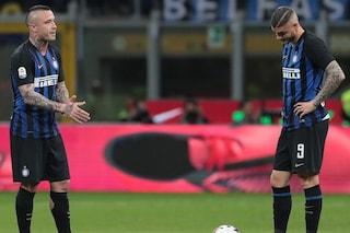 """""""Icardi e Nainggolan sanno già di essere fuori dall'Inter"""", l'annuncio di Marotta"""