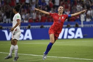 Mondiali femminili 2019, gli Stati Uniti volano in finale: Inghilterra battuta 2-1