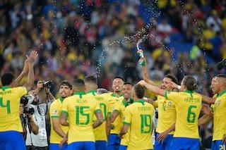 Trionfo verdeoro: il Brasile batte 3-1 il Perù in finale e vince la Copa America 2019