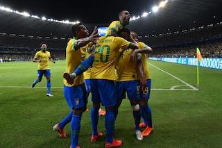 Copa America 2019, super Gabriel Jesus: il Brasile batte 2-0 l'Argentina e vola in finale