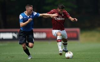 Milan, solo 1-1 in amichevole contro il Novara: gran gol di Theo Hernandez