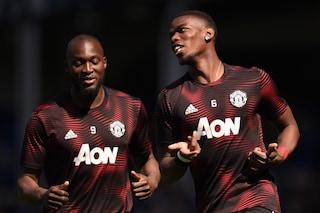 Il Manchester United convoca Lukaku e Pogba, ma Inter e Juve possono stare tranquille