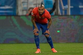 """La caviglia di Vidal preoccupa il Barcellona: """"Non so cosa accadrà adesso"""""""