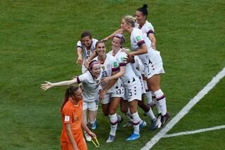 Gli Stati Uniti vincono i Mondiali femminili 2019, Olanda battuta in finale 2-0