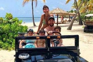 Messi, vacanze da sogno sull'isola privata da 5500 euro a notte