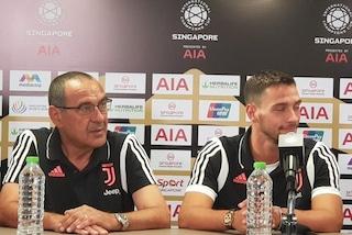 """Sarri: """"Con la Juve mi voglio divertire. Pogba? Mi piace molto"""""""